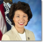 Elaine Chao, Secretary of Labor